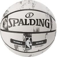 Фото Spalding NBA Marble Black White Outdoor