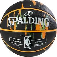 Фото Spalding NBA Marble Outdoor Black/Orange/Green