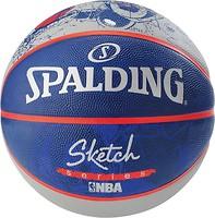 Фото Spalding NBA Sketch Robot Outdoor