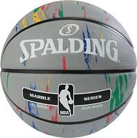 Фото Spalding NBA Marble Grey/Multi-Color Outdoor