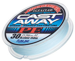 Фото Sunline Cast Away PE (0.26mm 150m 16.5kg) 16580182