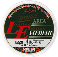Фото Sunline Troutist Area LE Stealth (0.128mm 100m 1.5kg)
