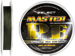 Фото Select Master PE Dark Green (0.08mm 100m 11kg)