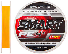 Фото Favorite Smart PE 4x Orange (0.296mm 150m 15.5kg)
