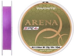 Фото Favorite Arena PE 4x Purple (0.104mm 100m 3.5kg)