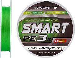 Фото Favorite Smart PE 3x L. Green (0.171mm 150m 8.7kg)