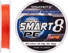 Фото Favorite Smart PE 8x Red Orange (0.153mm 150m 6.8kg)