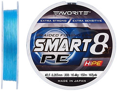 Фото Favorite Smart PE 8x Sky Blue (0.265mm 150m 16.4kg)