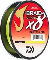 Фото Daiwa J-Braid Grand X8 Yellow (0.16mm 135m 10kg)