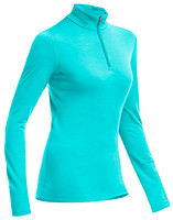 Фото Icebreaker Oasis Long Sleeve Half Zip Women 200 кофта