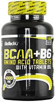 Фото BioTechUSA BCAA + B6 100 таблеток