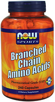 Фото Now Foods Branched Chain Amino Acids 240 капсул