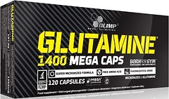 Фото Olimp L-Glutamine 1400 Mega Caps 120 капсул