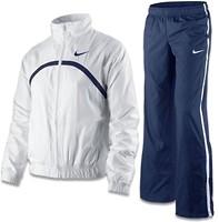 Фото Nike спортивный костюм Boarder Woven Warm up girls (449182)