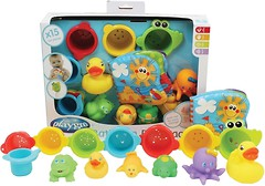 Фото Playgro Игрушки для бассейна 15 элементов (25245)