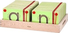 Фото Viga Toys Набор для написания магнитных букв. Строчные (50338)