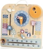 Фото Viga Toys PolarB Календарь с часами (44056)
