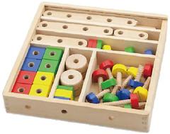 Фото Viga Toys Конструктор 53 детали (50490)