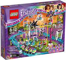 Фото LEGO Friends Парк развлечений Американские горки (41130)