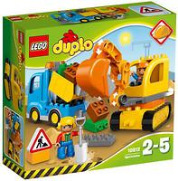 Фото LEGO Duplo Грузовик и гусеничный экскаватор (10812)