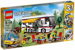 Фото LEGO Creator Кемпинг (31052)