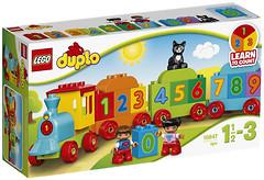Фото LEGO Duplo Поезд Считай и играй (10847)