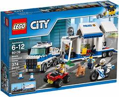 Фото LEGO City Мобильный командный центр (60139)