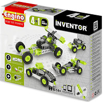 Фото Engino Inventor Машинки 4 модели (0431)