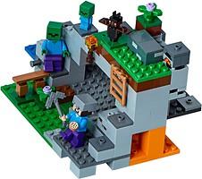 Фото LEGO Minecraft Пещера зомби (21141)