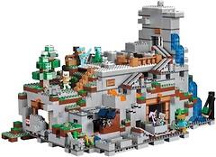 Фото LEGO Minecraft Горная пещера (21137)