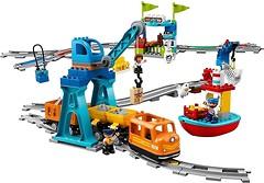 Фото LEGO Duplo Грузовой поезд (10875)