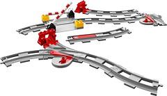 Фото LEGO Duplo Железнодорожные рельсы (10882)