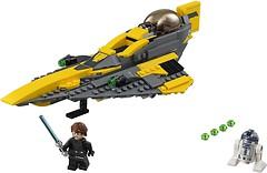 Фото LEGO Star Wars Звездный истребитель Энакина (75214)