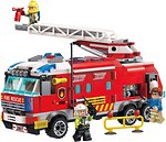 Фото Brick Qman Пожарная машина (2807)