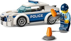 Фото LEGO City Полицейский патрульный автомобиль (60239)