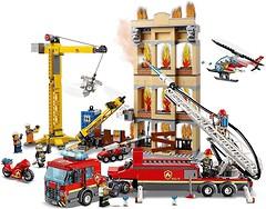 Фото LEGO City Городская пожарная бригада (60216)
