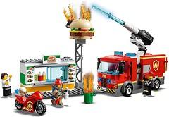 Фото LEGO City Пожар в бургер-баре (60214)