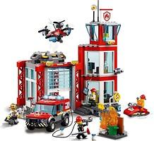 Фото LEGO City Пожарное депо (60215)