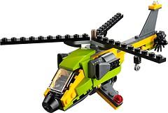 Фото LEGO Creator Приключение на вертолете (31092)