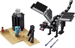Фото LEGO Minecraft Последняя битва (21151)