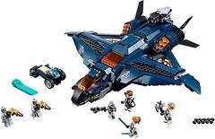Фото LEGO Marvel Модернизированный квинджет Мстителей (76126)