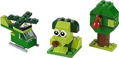 Фото LEGO Classic Зеленый набор для конструирования (11007)