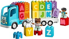 Фото LEGO Duplo Грузовик Алфавит (10915)