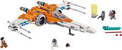 Фото LEGO Star Wars Истребитель типа Х По Дамерона (75273)
