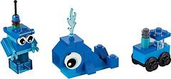 Фото LEGO Classic Синий набор для конструирования (11006)