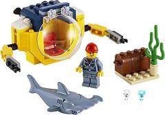 Фото LEGO City Океан мини-подлодка (60263)