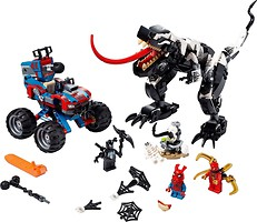 Фото LEGO Marvel Человек-Паук засада на веномозавра (76151)