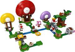 Фото LEGO Super Mario Погоня за сокровищами Тоада (71368)