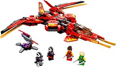 Фото LEGO Ninjago Истребитель Кая (71704)
