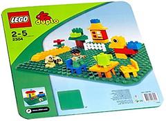 Фото LEGO Duplo Большая строительная пластина (2304)